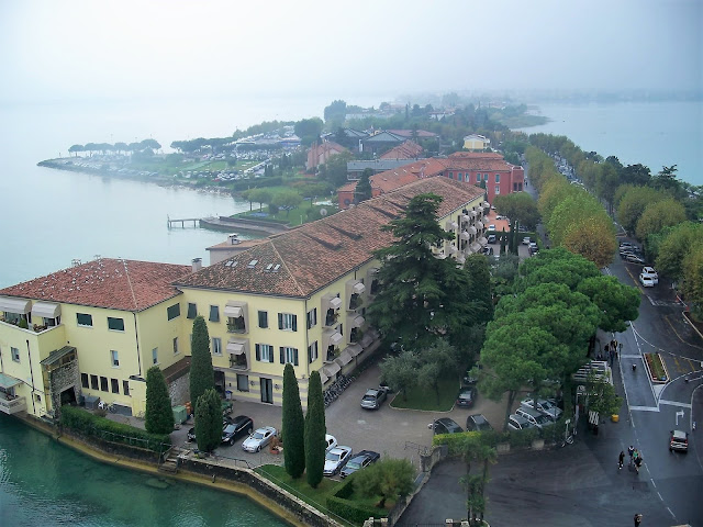 Sirmione view from Scaligero Castle