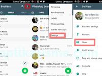Cara Backup Chat WhatsApp Business
