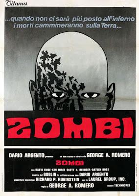 Zombi, locandina italiana