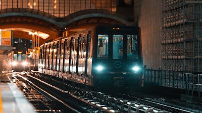 Wallpaper free train, rails, railways, Light HD