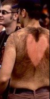 Las peores depilaciones masculinas - Corazón