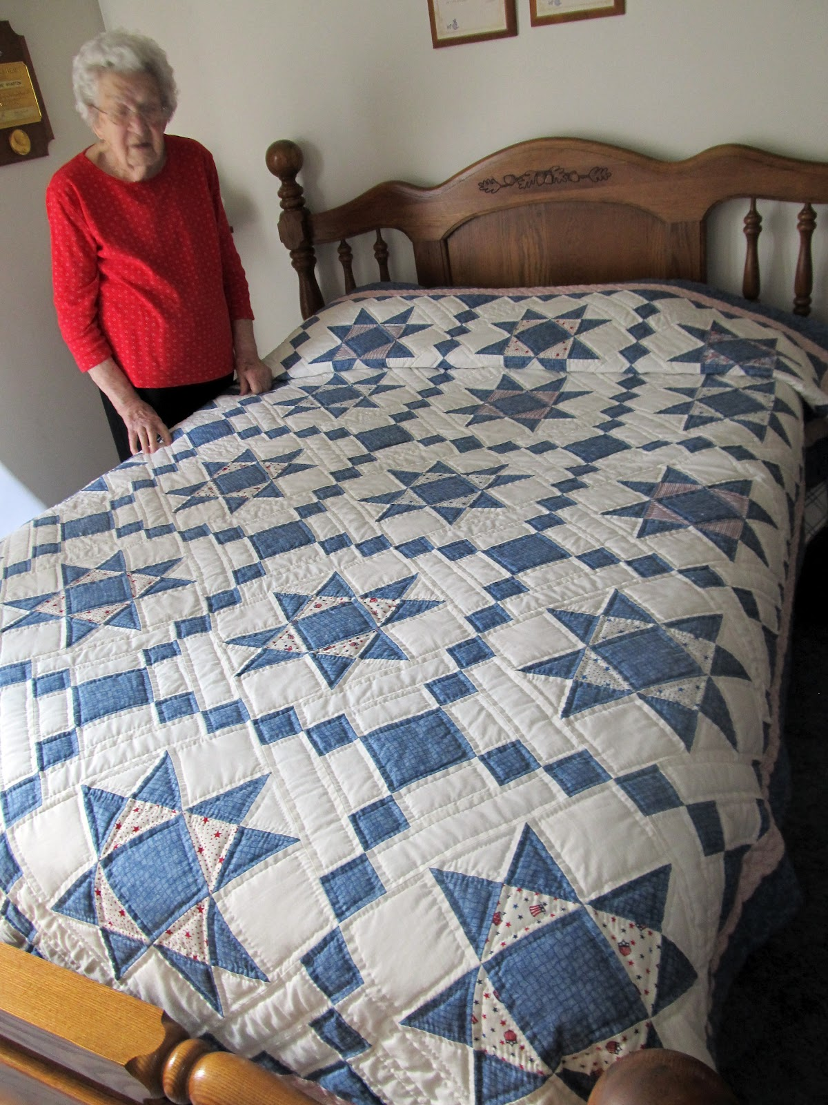 Image result for grandma with quilt