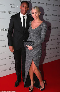 Martial and his wife Samantha