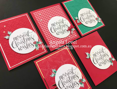 Stampin' Up! Watercolor Christmas Kit by Angela Lovel, Angela's PaperArts