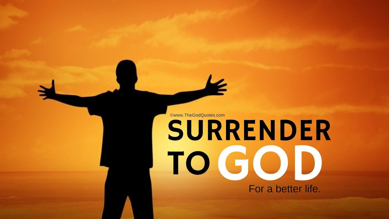 Surrender To God Quotes