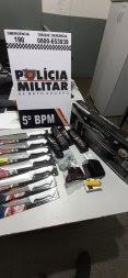 Ladrão rouba produtos de beleza e facas num mercado em MT