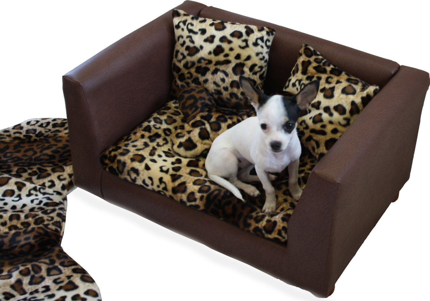 Leopard Print Sofa Appears Furniture Set Design Total Fab Luxury And Designer Dog Beds For Small Large Dogs