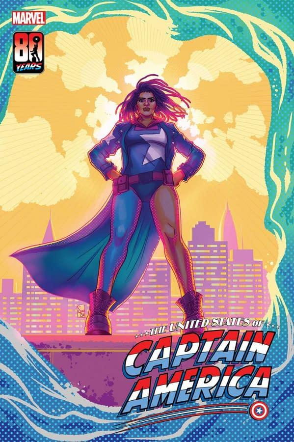 Nichelle Wright, the new Captain America from Marvel comics