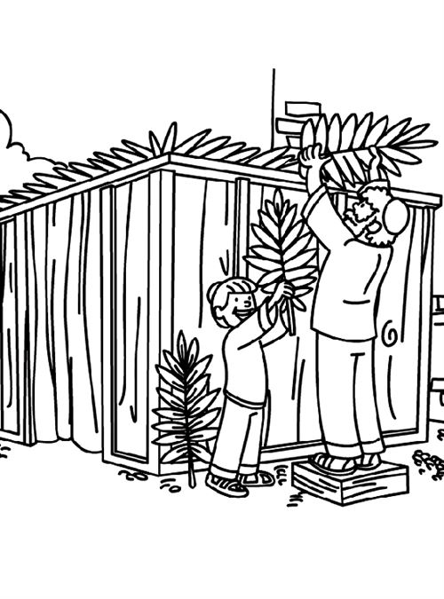 Best Sukkah Pictures To Color