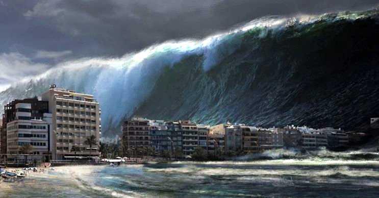 Kuzey denizinde yeniden tekrarlanacak bir tsunami dünyanın yarısını felakete sürükler.