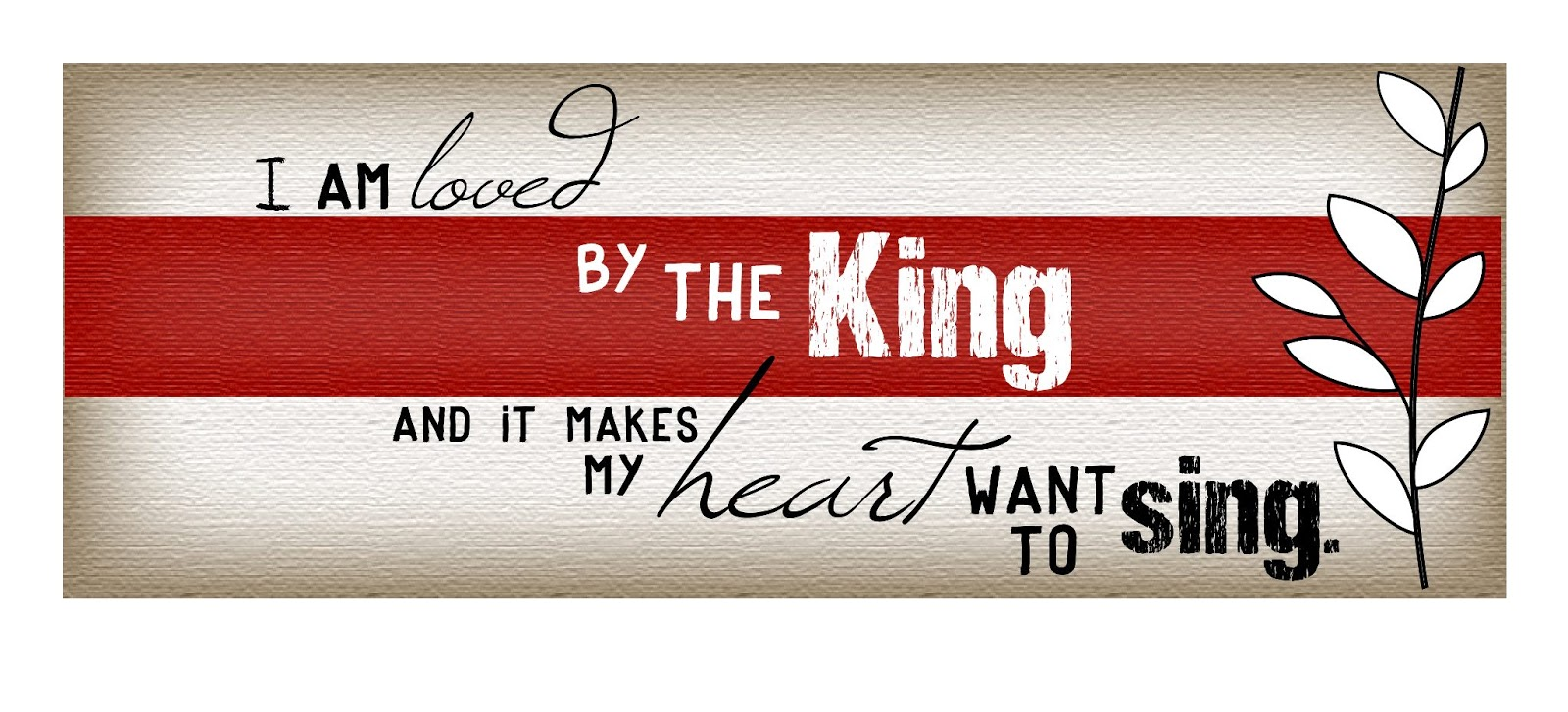 I Am Loved By The King Inspirational Quotes Happy Birthday Cards