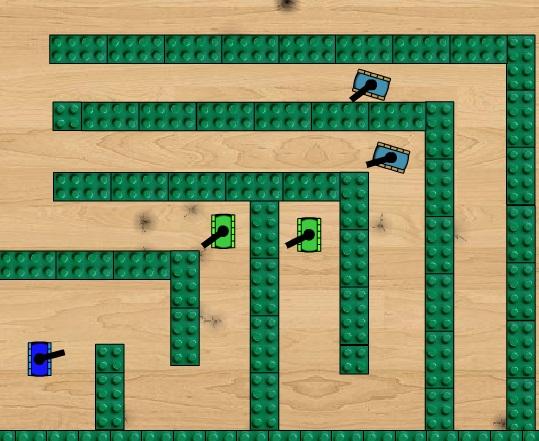 Oyuncak Tank Arenası - Oyna