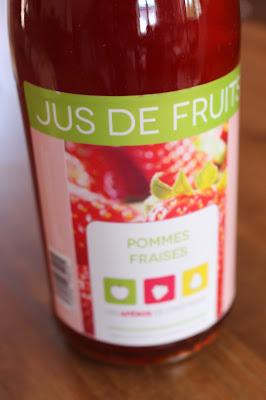 jus pommes-fraises des apéros de chez nous