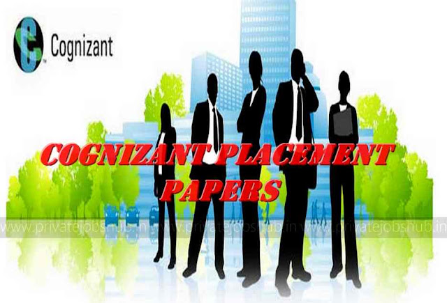 Cognizant Technology Placement Papers 2018 CTS Solution Download PDF