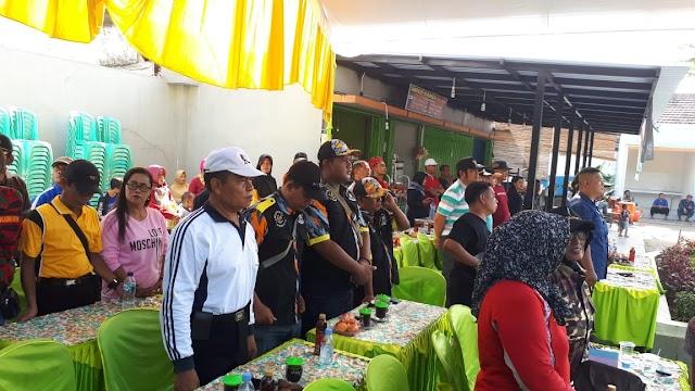 Ratusan Warga Hadiri Pelaksanaan Hari Pers Nasional di Taman Air Mancur Kertosono