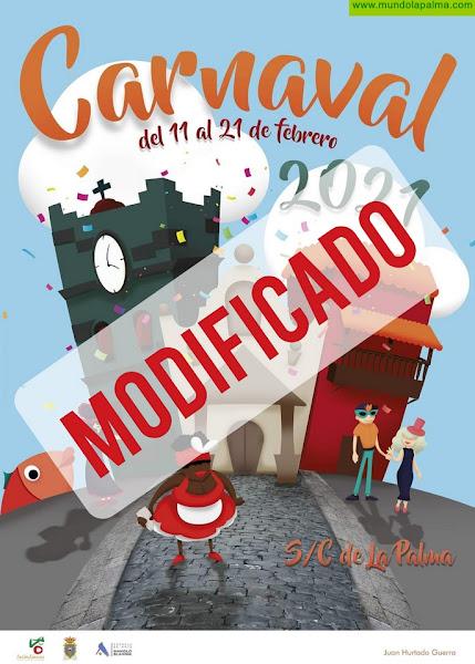 Santa Cruz de La Palma ajusta los actos del Carnaval a las nuevas restricciones de horario