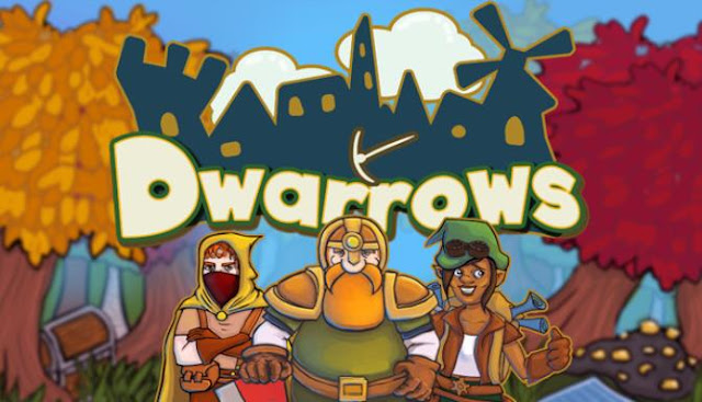 The game Dwarrows is an adventure strategy, the main purpose of which is to build a whole settlement.