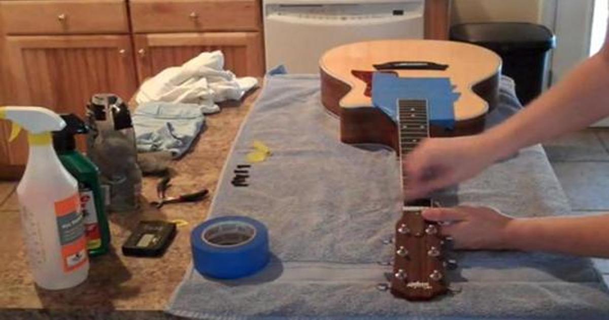 Hướng dẫn cách bảo quản và vệ sinh đàn guitar đúng cách