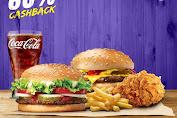 Promo BURGER KING Cachback 60% Pakai OVO