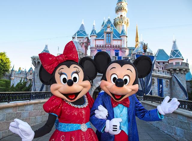 Parques da Disney em Anaheim na Califórnia
