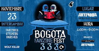 Bogota Fanzine Fest #3 Revenge