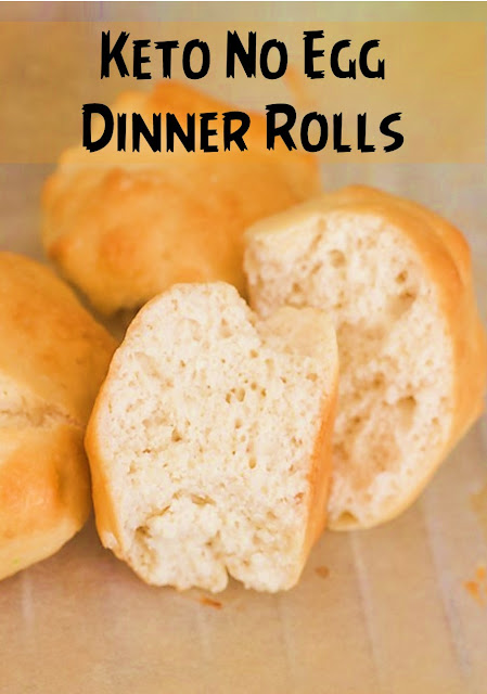 Keto No Egg Dinner Rolls