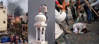 Setidaknya 38 orang terbunuh dalam pertempuran Hindu-Muslim di India Jumlah kematian akibat benturan antara Hindu dan Muslim di New Delhi,