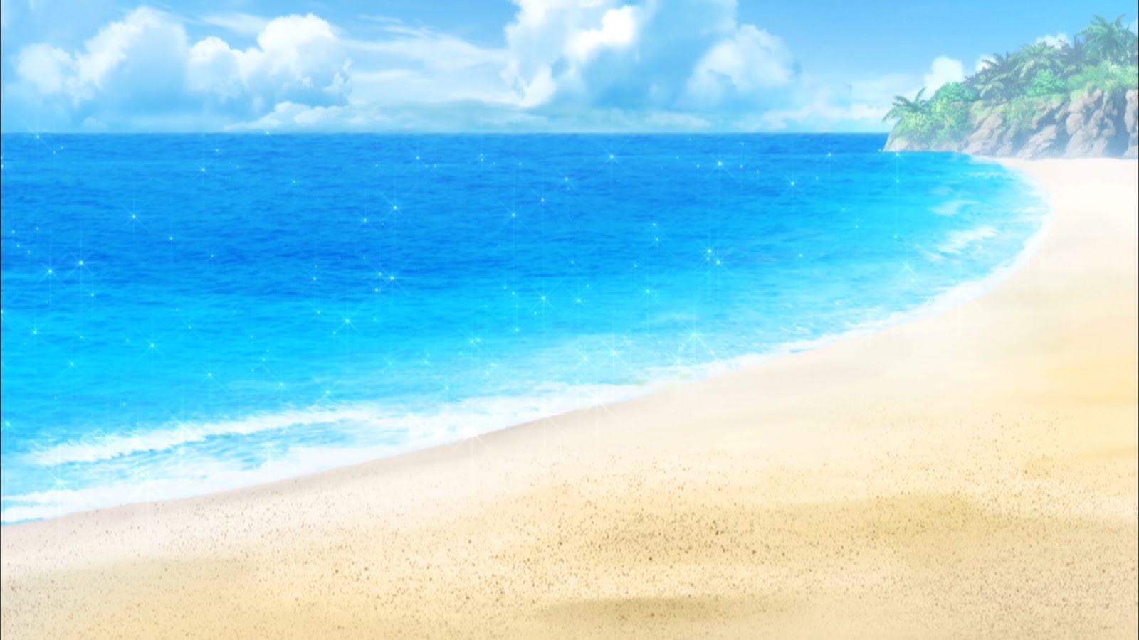 Anime Landscape Anime Beach Background Wallpapers in ultra hd 4k 3840x2160, 1920x1080 high definition resolutions. anime landscape anime beach background