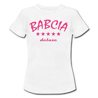 Koszulka Babcia deluxe