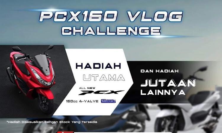 Ingin Dapat All New Honda PCX160? Yuk Ikutan PCX160 Vlog Challenge