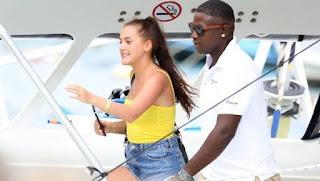 Lucia Loi with her ex-boyfriend Marcus Rashford