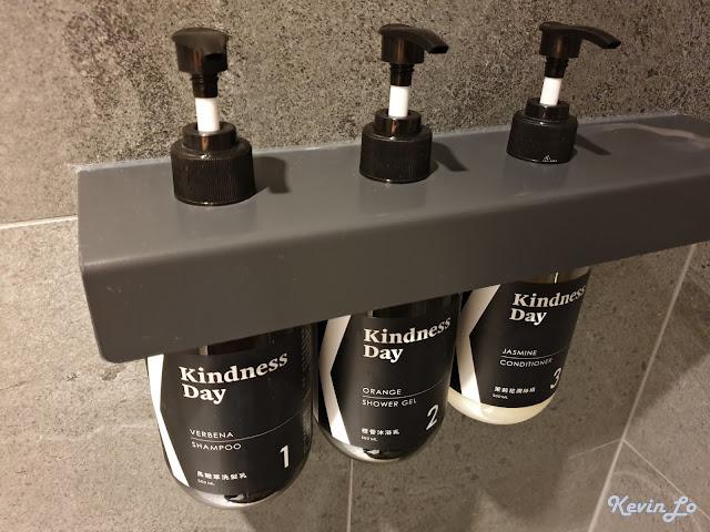 康橋慢旅沐浴用品也是康橋自有品牌