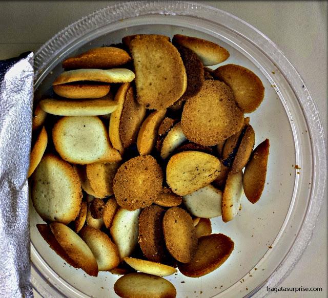Bolacha paciência, comida típica da Bahia