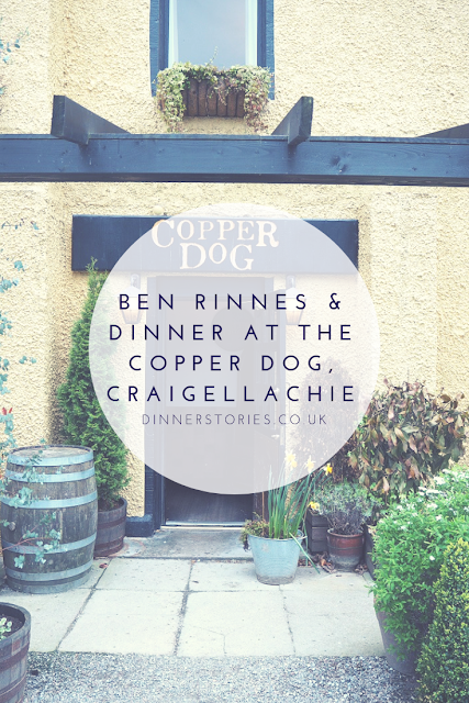 Pin This! Ben Rinnes and dinner at the Copper Dog Craigellachie