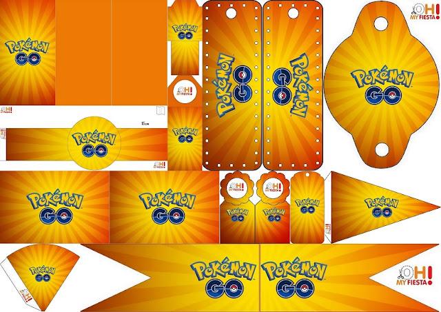 Pokemon Go: Imprimibles e Imágenes Gratis para Fiestas.