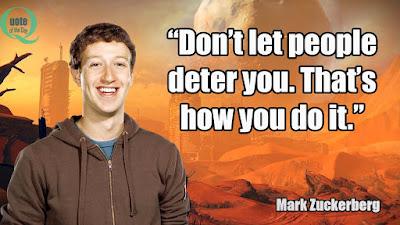Taking Action Mark Zuckerberg Quotes