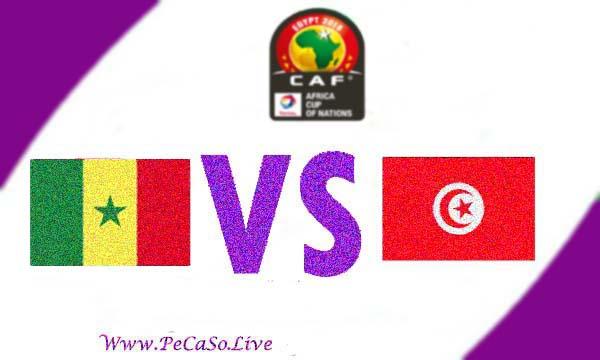 مشاهدة مباراة تونس والسنغال بث مباشر 14-7-2019 Tunisia vs Senegal Live