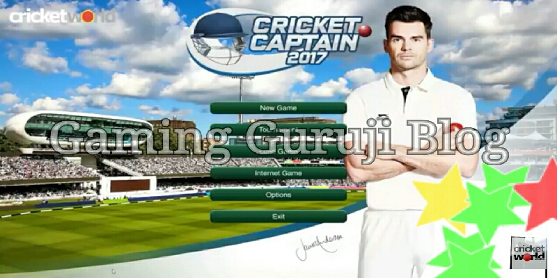 Cricket captain game