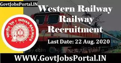 Western Railway Junior Technical Associate Recruitment 2020