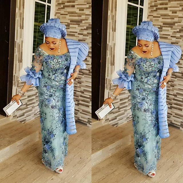 Gorgeous Aso Ebi Iro And Buba Styles For Owambe Guests