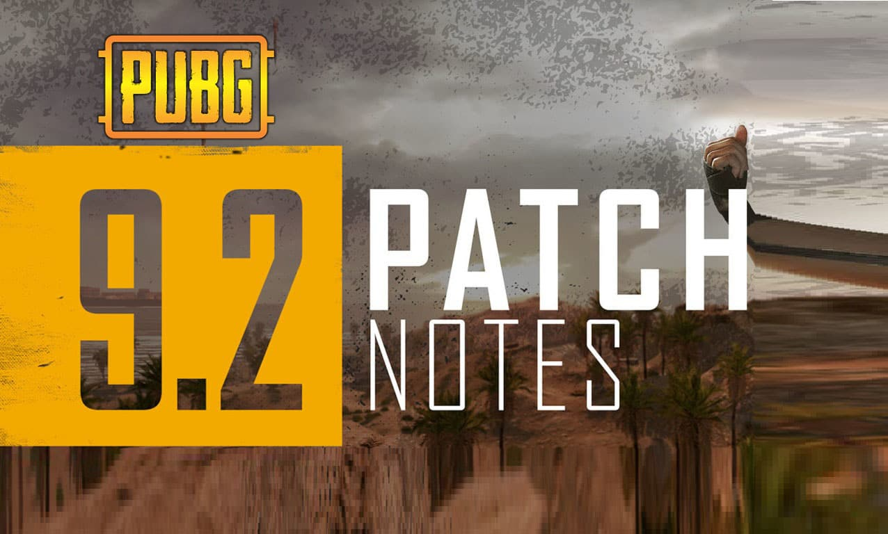 PUBG update 9.2 is now Live