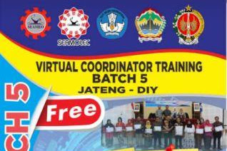 Virtual Coordinator Training Batch 5 Jateng-DIY