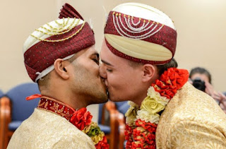 First Ever Gay Muslim Wedding Takes Place In U.K (Photos)