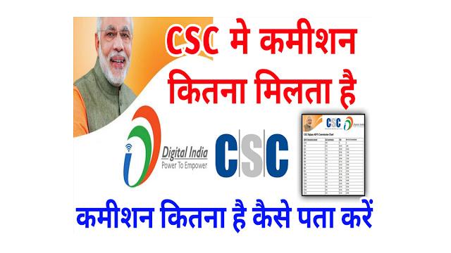 csc commission chart 2021 pdf, csc commission list 2021 pdf download, How to Download CSC Commission 2021, csc commission, csc ka commission kaise dekhen,
