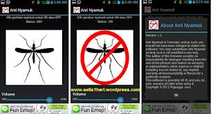 Aplikasi android pengusir nyamuk
