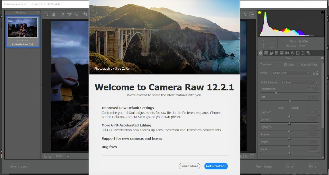 Adobe Camera RAW 12.2.1 Full Version