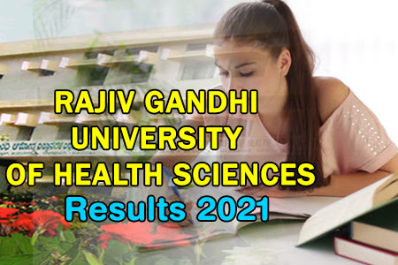 RGUHS Results 2021