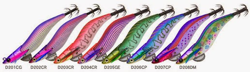 DART MAX FISH LEAGUE turlutte calamar