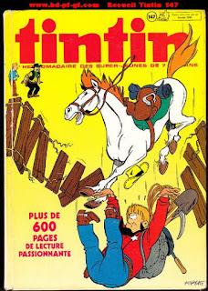 Recueil du journal Tintin, numéro 147, 1979