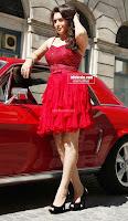 Hansika Motwani in lovely Red Mini Dress Dance Stills 10 .xyz.jpg
